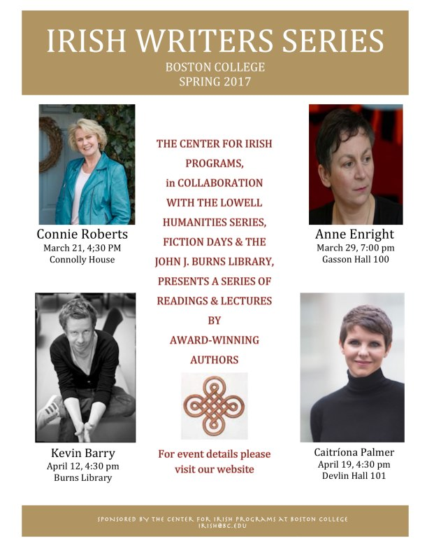 Irish Writers Series Boston College